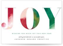 Simple Watercolor Joy