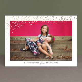 Lots of Dots Foil-Pressed Holiday Petite Cards