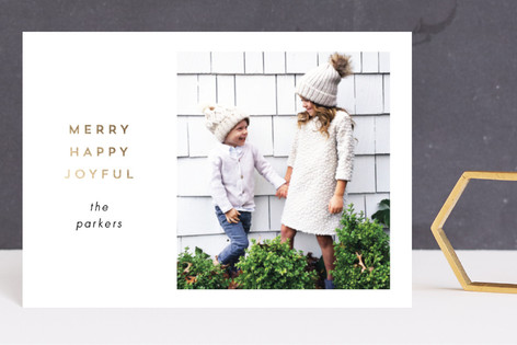 Simply Special Foil-Pressed Holiday Petite Cards