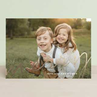 Splash Foil-Pressed Holiday Petite Cards