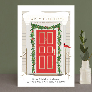 From our home to yours Foil-Pressed Holiday Petite Cards