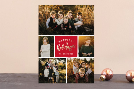 Holiday Gallery Foil-Pressed Holiday Cards