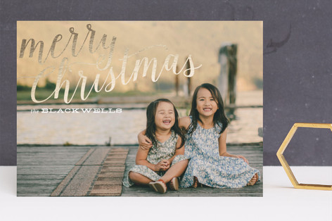 Simply Stated Foil-Pressed Holiday Cards