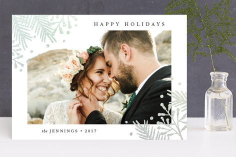 Merry Wonderland Foil-Pressed Holiday Cards