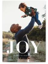 Joyful Hearts Foil-Pressed Holiday Cards