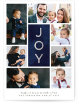 Joy x Seven Foil-Pressed Holiday Cards
