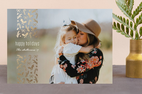 Glimmer Foil-Pressed Holiday Cards