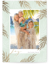 Gilded Palms by Hallie Fischer