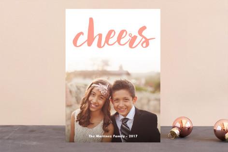 Bright & Jolly! Letterpress Holiday Photo Cards