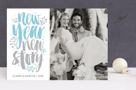 New Story Letterpress Holiday Photo Cards