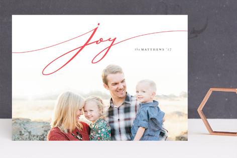 La monita Letterpress Holiday Photo Cards