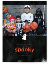 Spooky Ghost Halloween Cards