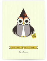 Happy Owl-o-ween Halloween Cards