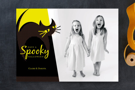 Black Cat Halloween Cards
