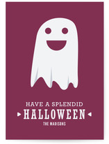 The Happy Ghost Halloween Cards