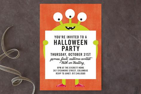 Mr. Monster Halloween Cards