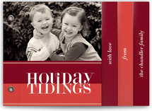 Bold Reflection Holiday Minibook™ Cards