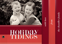 Bold Reflection Holiday Minibook&amp;trade; Cards