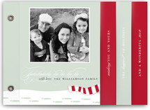 Footsteps in the Snow Holiday Minibook™ Cards