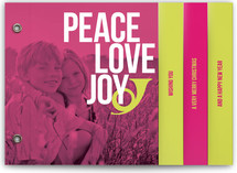 Peace Love and Bop Holiday Minibook&amp;trade; Cards