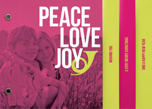 Peace Love and Bop Holiday Minibooks By Alex Elko Design