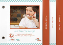 Sweet Tooth Recipe Holiday Minibook&amp;trade; Cards