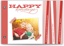 Chevron Cheer Holiday Minibook&amp;trade; Cards