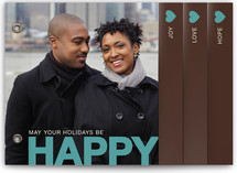 HAPPY Holiday Minibook&amp;trade; Cards