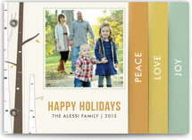 Seasonal Birch Holiday Minibook&amp;trade; Cards