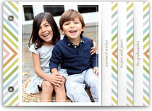 chevron rainbow Holiday Minibook&amp;trade; Cards