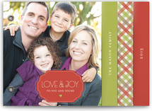 Holiday Gingham Holiday Minibook&amp;trade; Cards