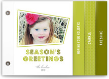 Retro Sparkle Holiday Minibook&amp;trade; Cards