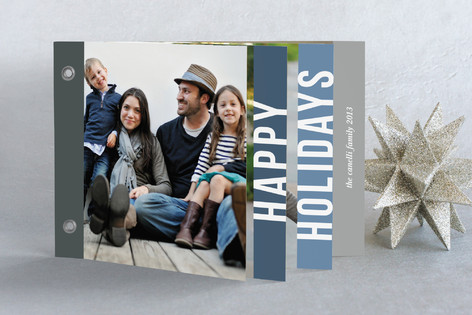 Holiday Block Holiday Minibook™ Cards