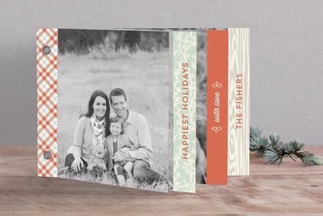 Warm + Cozy Holiday Minibook™ Cards
