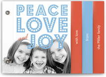 float + peace Holiday Minibook™ Cards