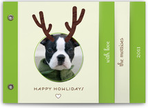 Reinpet Holiday Minibook™ Cards