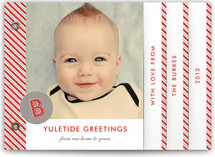 Yuletide Greetings Holiday Minibook&amp;trade; Cards