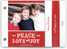 Mittens Holiday Minibook&amp;trade; Cards