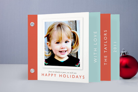 Holiday Thoughts Holiday Minibook Cards