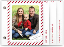 Candy Cane Christmas Holiday Minibook&amp;trade; Cards