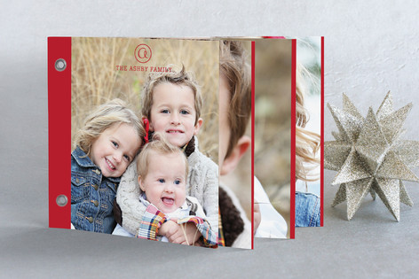 Family Classic Holiday Minibook™ Cards
