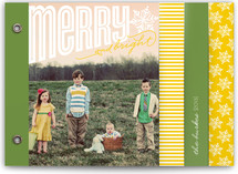 Merry Bright Cheer Holiday Minibook™ Cards