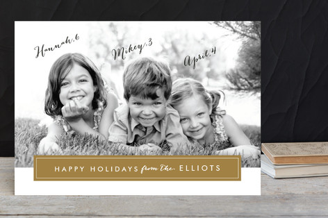 Modern Archive Holiday Petite Cards