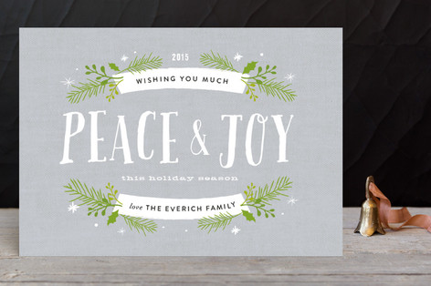 Peace and Pine Holiday Petite Cards
