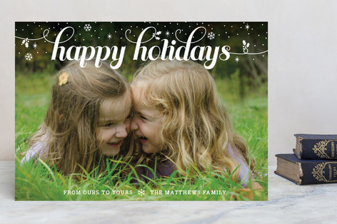 Snowfall Holiday Petite Cards