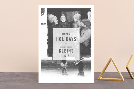 Low Toner Holiday Petite Cards
