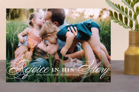 In His Glory Holiday Petite Cards
