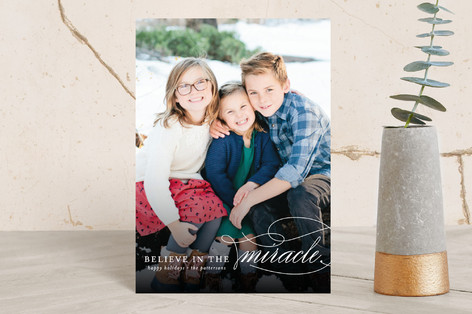 Believe In The Miracle Holiday Petite Cards