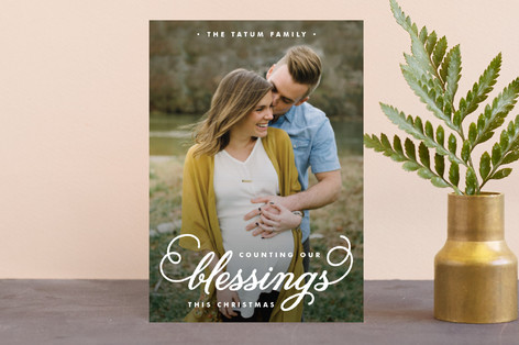 Counting Our Blessings Holiday Petite Cards