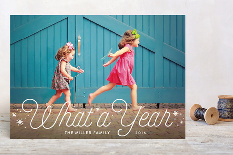 What a Year Holiday Petite Cards